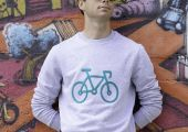 Sweat-shirt Mixte Vélo Glaz - KOP